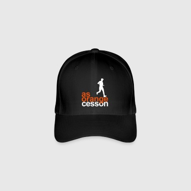 Logo-AS-Orange-blanc - Casquette Flexfit