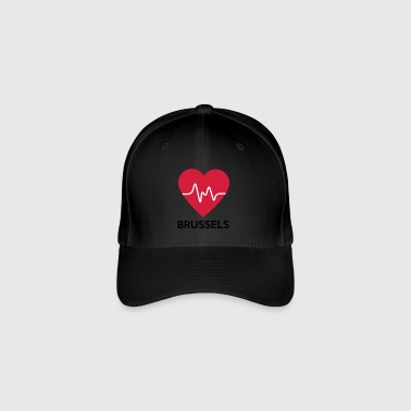 heart Brussels - Flexfit Baseball Cap