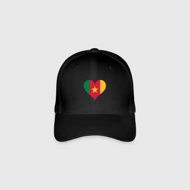 A Heart For Cameroon - Flexfit Baseball Cap