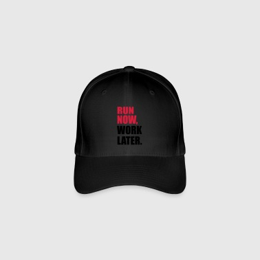 to run - Flexfit Baseball Cap