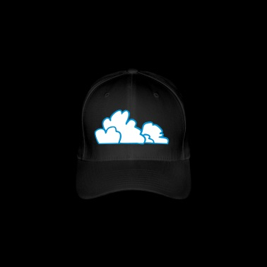 clouds - Flexfit Baseball Cap