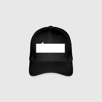 Speech bubble rectangle - Flexfit Baseball Cap