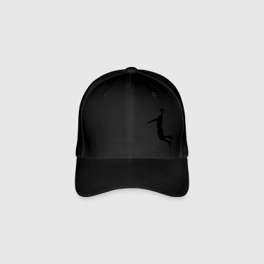 Basketball Player Slam Dunk - Flexfit Baseball Cap