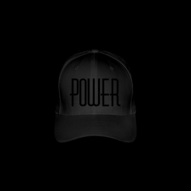 power - Flexfit Baseball Cap