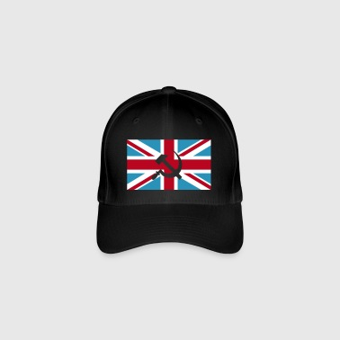 Hammer and Sickle Union Jack; Union Jack - Flexfit lippis