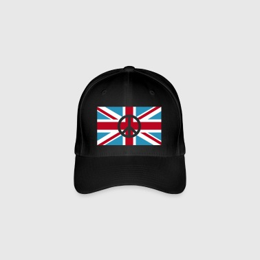 Peace Sign Union Jack, Union Jack - Flexfit lippis
