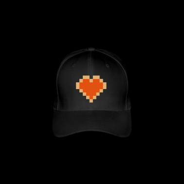 Pixel Heart - I Love PIXEL - Flexfit Baseball Cap