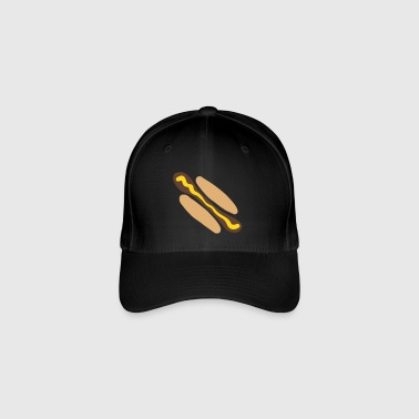 Hot dog à la moutarde - Casquette Flexfit