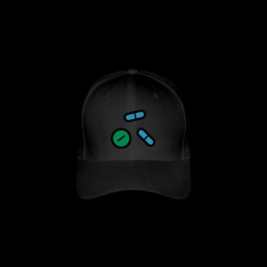 Pills, medicines, medicine, drugs - Flexfit Baseball Cap