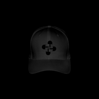 Round Swastika Key Design! - Flexfit Baseball Cap