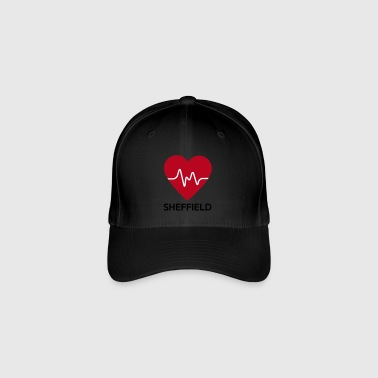 heart Sheffield - Flexfit Baseball Cap