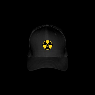 Nuclear Power Symbol - Radioactivity - Flexfit Baseball Cap