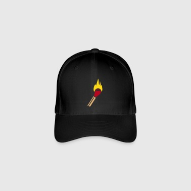 Match flame - Flexfit Baseball Cap