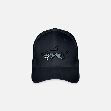 Sharky - Casquette baseball flexfit