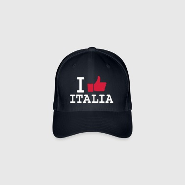 I like Italia full - Casquette Flexfit