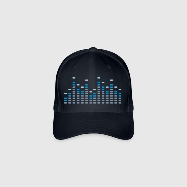 Music Equalizer  - Flexfit baseballcap