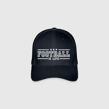 football is life deluxe - Casquette Flexfit
