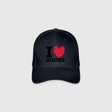 I Love Boobs - Casquette Flexfit