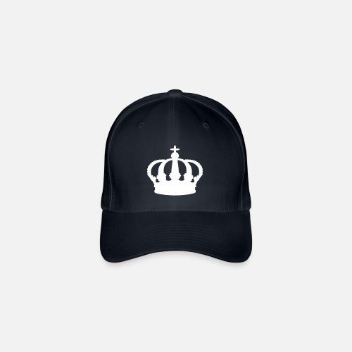 9bbf8673fb07a corona - reina - rey - Gorra de béisbol flexfit. delante