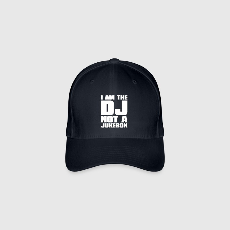 DJ - I am the DJ not a jukebox - Flexfit Baseball Cap