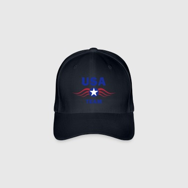 usa fly team - Casquette Flexfit