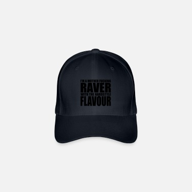 Deejay Mother F*cking Raver EDM Quote - Flexfit baseballcap