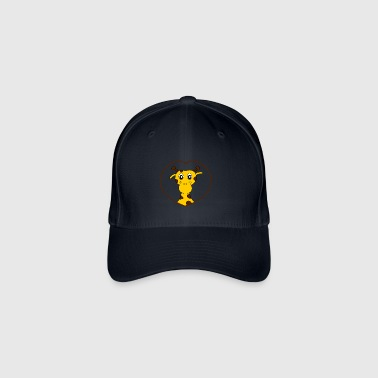 Love girafe - Flexfit Baseball Cap