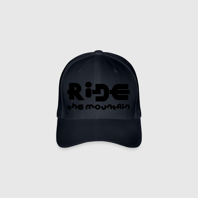 Ride the mountain ! - Casquette Flexfit