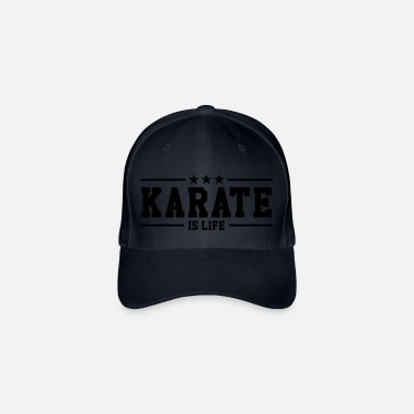 Karate Karate is life - Flexfit baseballcap