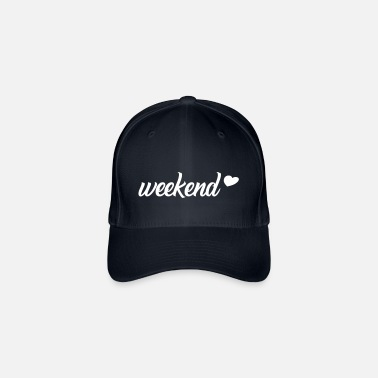 Weekend Weekend / weekend, weekend, party, chill - Flexfit Baseball Cap