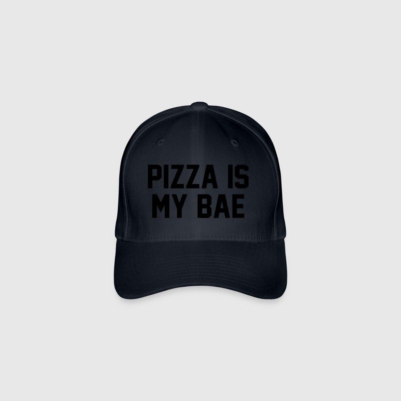 PIZZA IS MY BABE - Casquette Flexfit