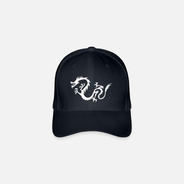 Chinese Writing Chinese Dragon - Flexfit Baseball Cap