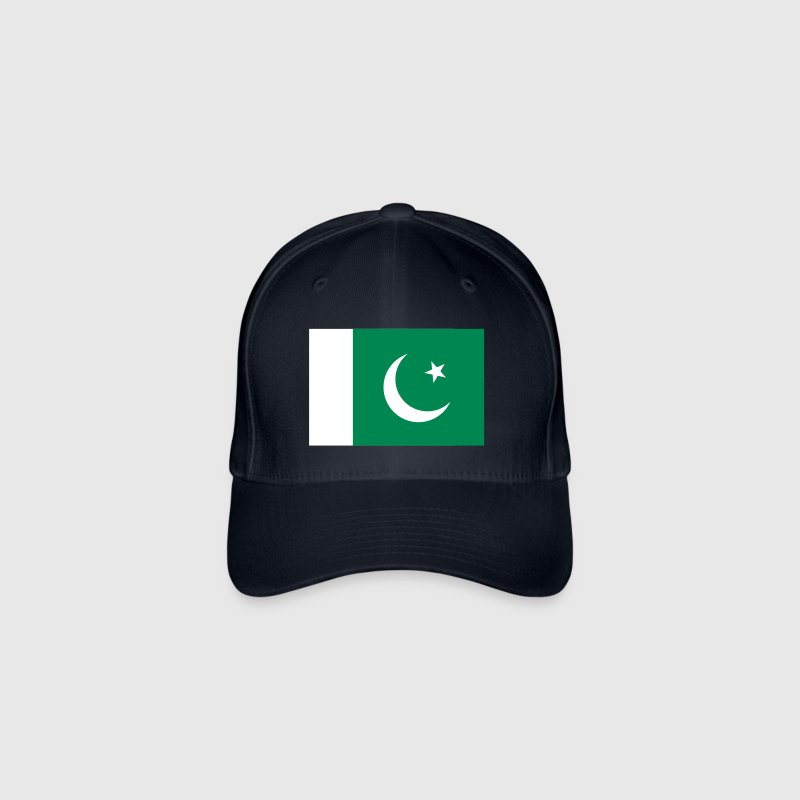 Drapeau national du Pakistan - Casquette Flexfit
