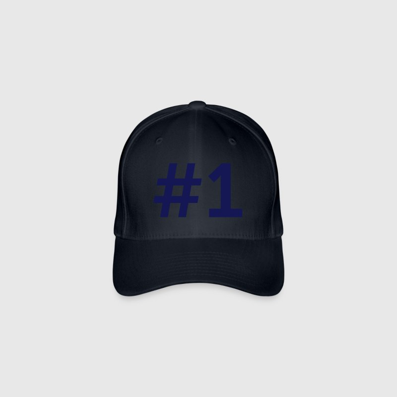 Sport Number 1 One - Flexfit Baseball Cap