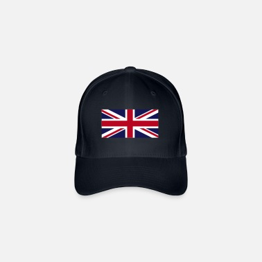 British National flag of Great Britain - Flexfit Baseball Cap