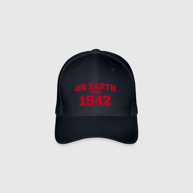(de) on earth since 1942 (fr) - Casquette Flexfit