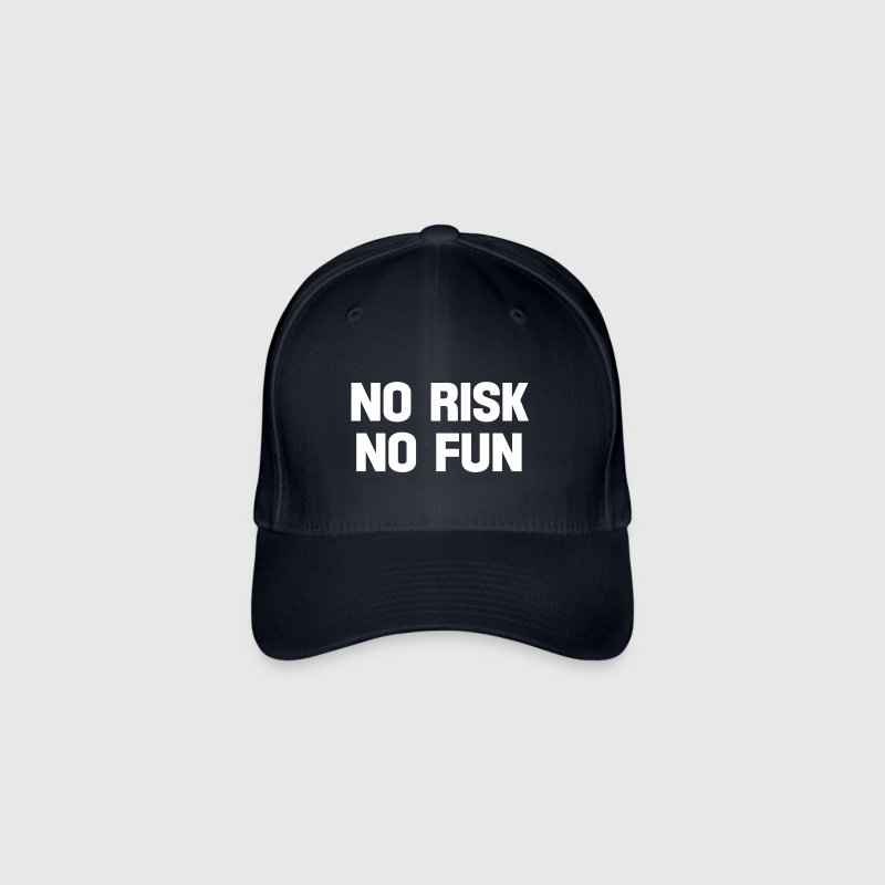 no risk no fun - Flexfit Baseballkappe