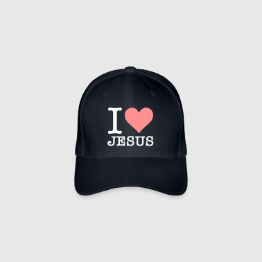 I Love Jesus - Flexfit Baseball Cap