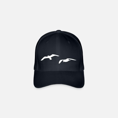Harbour sea gull seagull beach harbour sailing ship - Flexfit Baseball Cap