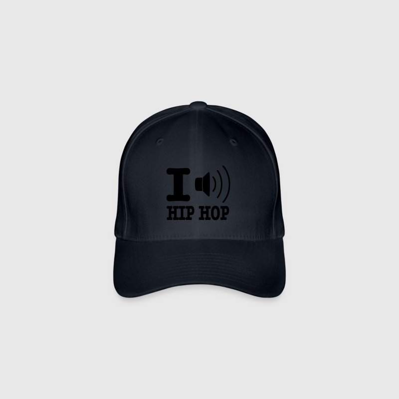 I love hiphop / I speaker hiphop - Flexfit Baseball Cap