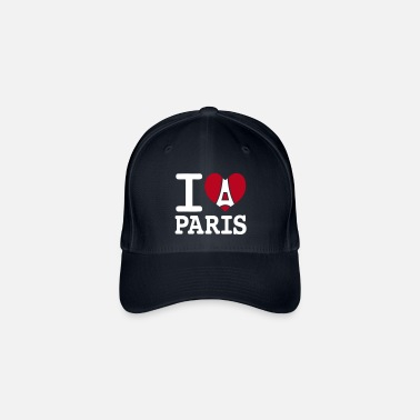 I I love Paris - Casquette baseball flexfit