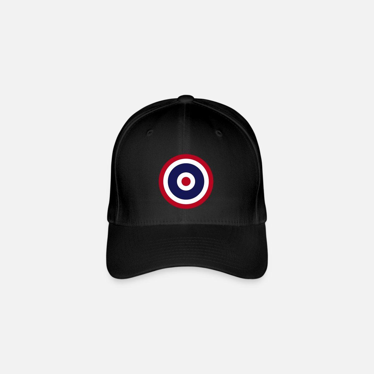 6f9a9d71d58 Thai Roundel Target Flag Flexfit Baseball Cap