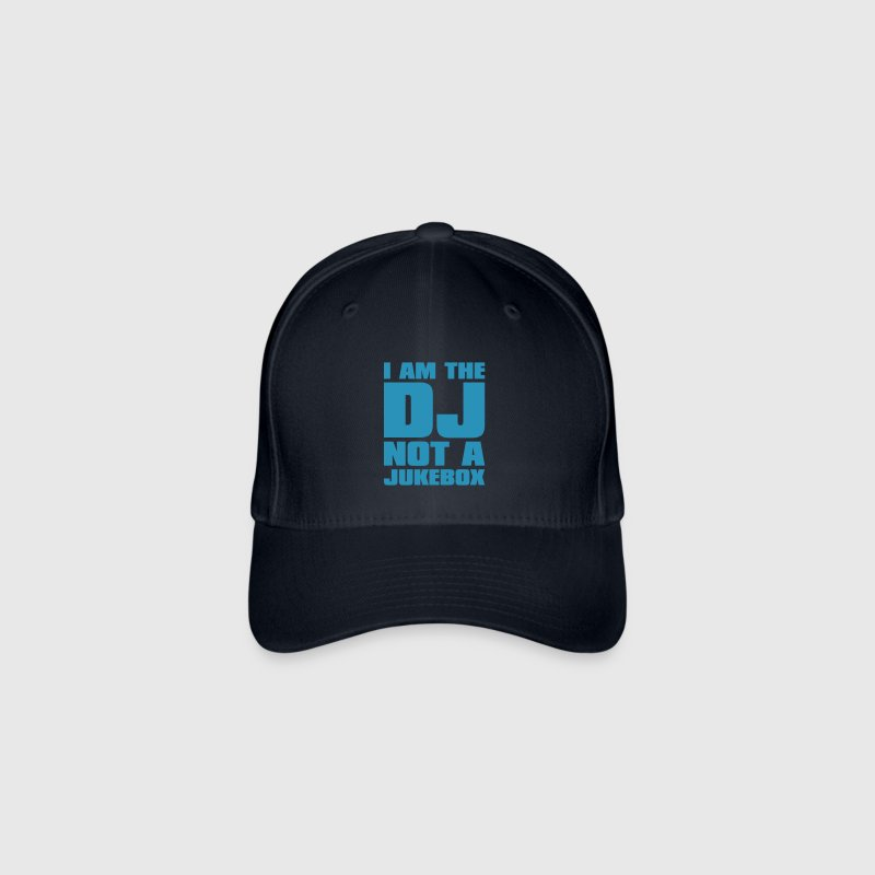 DJ - I am the DJ not a jukebox - Casquette Flexfit