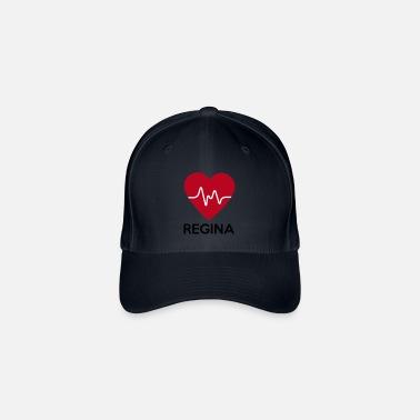 513cea990ff94 Regina Regina corazón - Gorra de béisbol flexfit