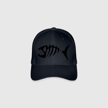 PiranhaFischFishBoneGrete - Flexfit Baseball Cap