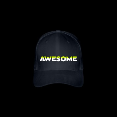 AWESOME - Flexfit baseballcap