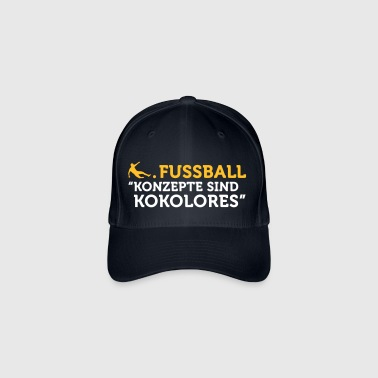 Football Quotes: Concepts Are Tosh! - Flexfit Baseball Cap
