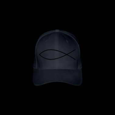 Ichthys Fish Christ - Flexfit Baseball Cap