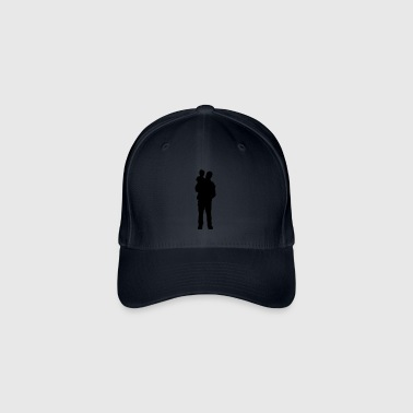 father and son - Flexfit Baseball Cap