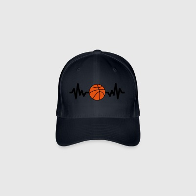 basketbal is het leven - Flexfit baseballcap